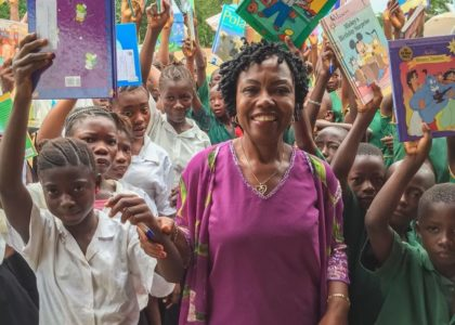 Children of Tikonko are Happy to Receive Books