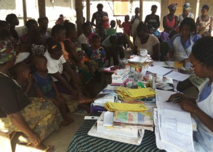 Outreach Motorbike Clinic Brings Health Care to Villages