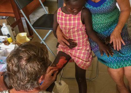 Gary and Sandra Johnson Providing Care in Tikonko