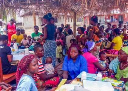 Outreach Clinics in Rural Tikonko Chiefdom