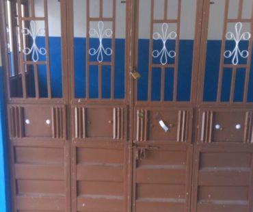 main doors to the Birth Waiting HOme